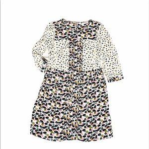 Boden Floral Print Midi Summer Tea Dress